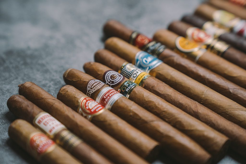 Storing a selection of cigars